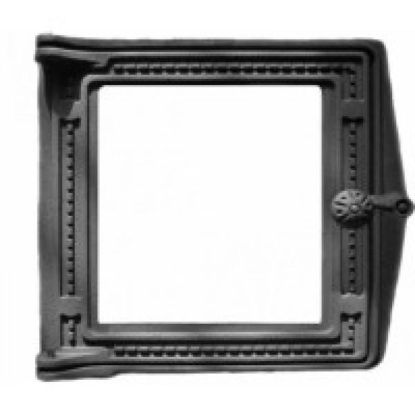 Топочная дверца ДТ-4 (Р) под стекло