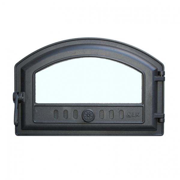 Дверца топочная герметичная со стеклом LK 324
