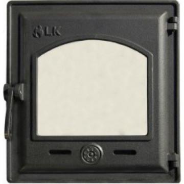 Дверца топочная герметичная со стеклом LK 370