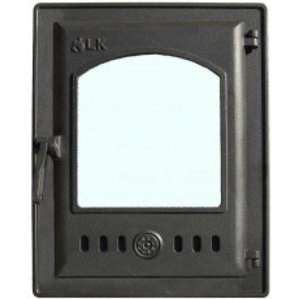 Дверца топочная герметичная со стеклом LK 310
