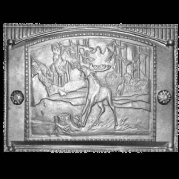Дверка каминная ДТК 2 (Р)