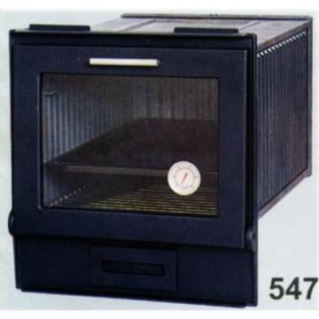 Духовка застекленная литая с сажной дверцей 547 SVT